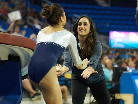 Wieber wanted to continue her role on the UCLA team