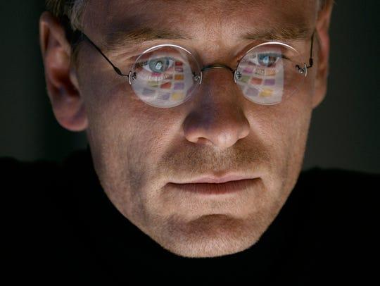 Michael Fassbender stars as Steve Jobs in a scene from