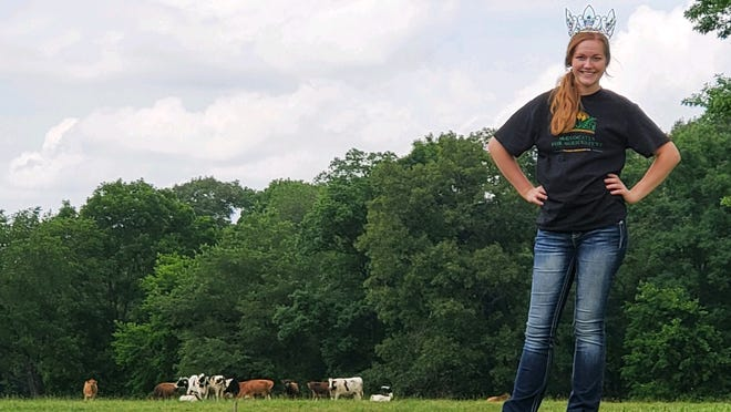 Abbey Werstler grew up on a pig farm but her latest interest is the dairy industry. She's working on two dairy farms and developed a dairy education program that she brought to area preschools, special needs classrooms and summer camps.