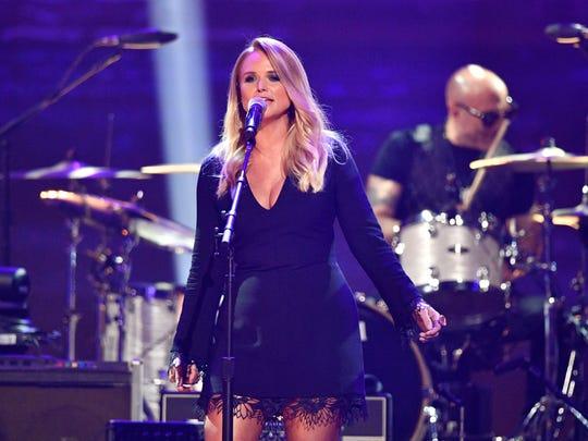 Miranda Lambert is a nominee for the 2018 ACM Awards.