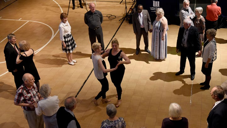 Seniors stay active at Bryn Du dance