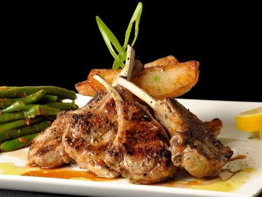 Lamb chops from Zorba's Mediterranean Grille & Bar