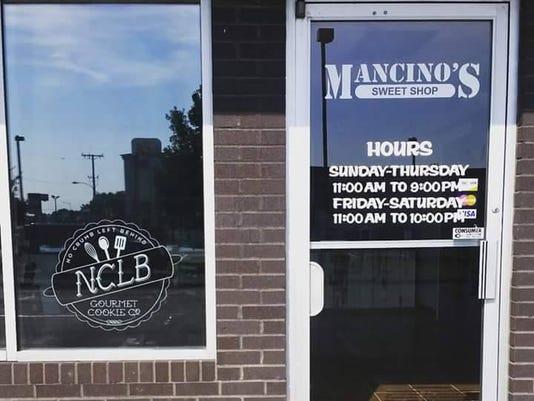 Mancino's Sweet Shop entrance