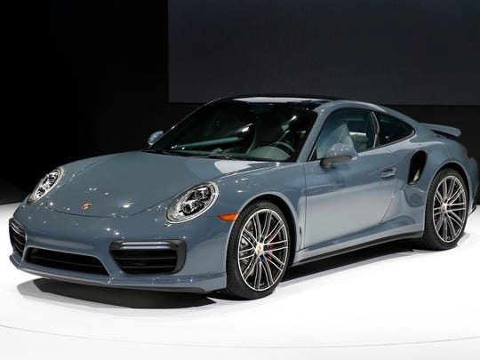 The Porsche 911 Turbo debuts at the North American