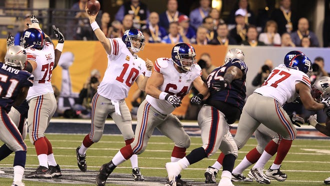 New York Giants quarterback Eli Manning has thrown eight interceptions in 2016.