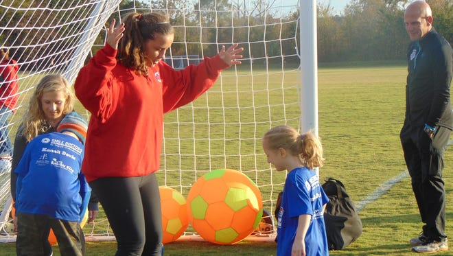 """Murfreesboro Soccer Club is offering a new, free program for area children and youth with special needs called TOPSoccer. The program partners children with volunteer """"soccer buddies,"""" who help participants learn the basics of soccer."""