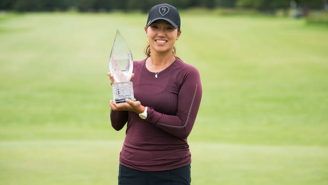 Annie Park celebrated her first LPGA Tour victory on Sunday.