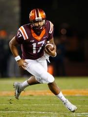 Virginia Tech quarterback Josh Jackson has started every game this season.