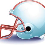 Football helmet Color Illustrator Ver. 5 Football season is on the way Get in gear