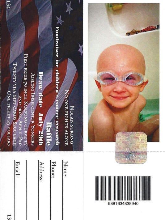 Fake Nolan Scully raffle ticket