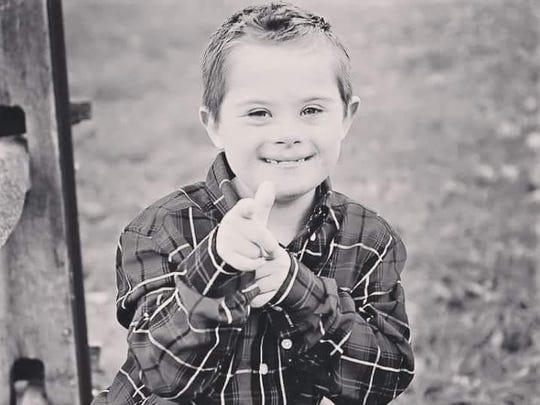 Trooper Neil Case's son, Joshman, is 9.