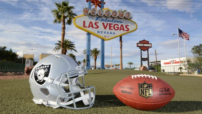 Unless the NFL takes action, fans could place mobile bets from the Raiders' Las Vegas stadium.