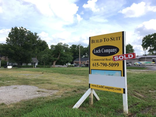 Lot purchased by AutoZone