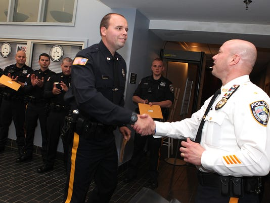 Awards given to Randolph police officers