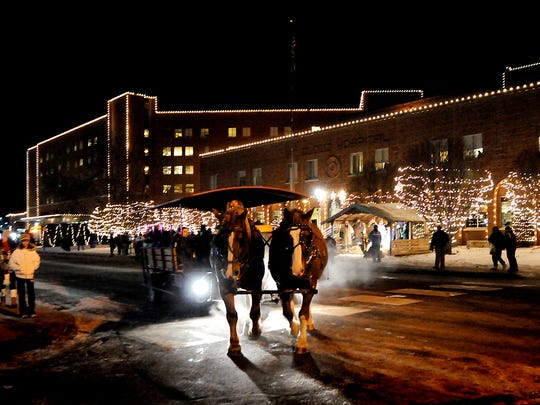The St. Cloud Hospital Lights Festival