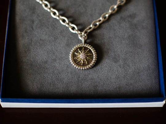This Slane necklace was designed by friends of Winkie