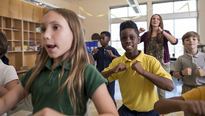 Students and teachers alike enjoy activity breaks thanks to GoNoodle and the BlueCross Health Foundation.