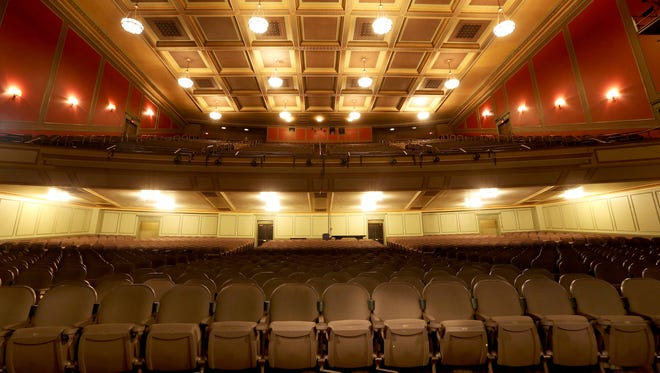 The Taft Theatre has new seats with cup holders. It will be the temporary home for the Cincinnati Symphony Orchestra and the Cincinnati Pops during their upcoming season while Music Hall is undergoing renovations.