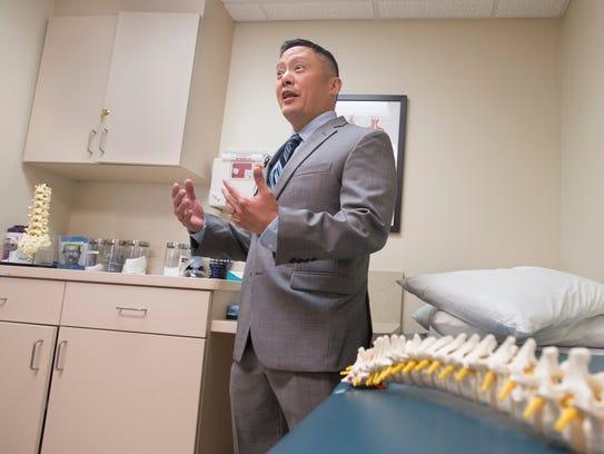 Dr. Huaiyu Tan, an interventional pain medicine physician