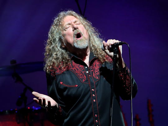 Robert Plant and the Sensational Space Shifters' perform