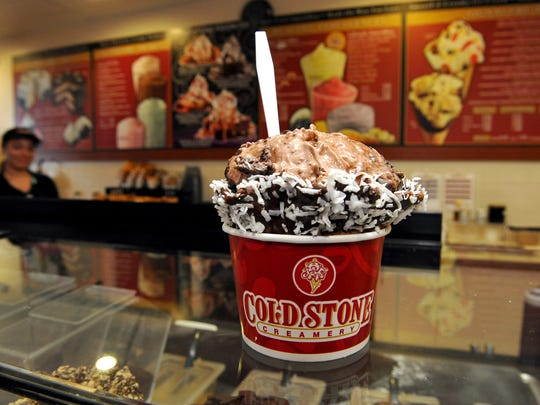 Cold Stone Creamery has locations in Altoona, Ankeny and West Des Moines.