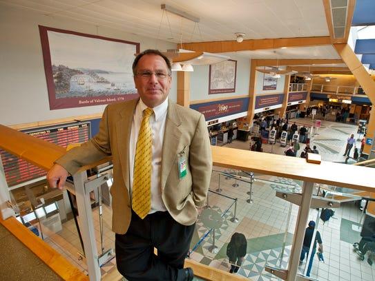 Gene Richards, director of the Burlington International