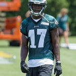 Eagles wide receiver Nelson Agholor has made an impression on both teammates and coaches during training camp.