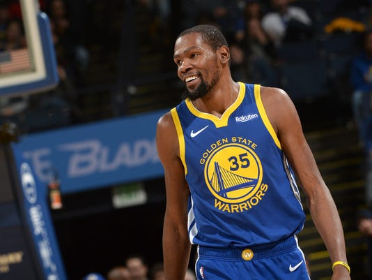 Kevin Durant says Draymond Green spat won't affect his future with Warriors
