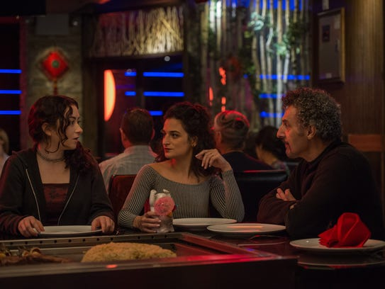 Abby Quinn (from left), Jenny Slate and John Turturro