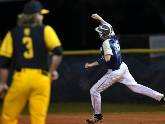 High School Baseball: Merritt Island at Eau Gallie