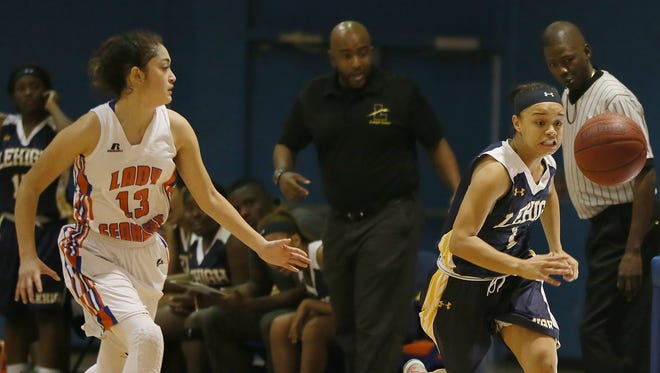 The Lehigh girls basketball team enters the District 6A-11 tournament with a semifinal matchup with South Fort Myers Wednesday.