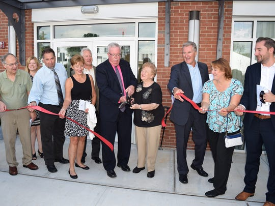 A grand opening and ribbon cutting was held Wednesday