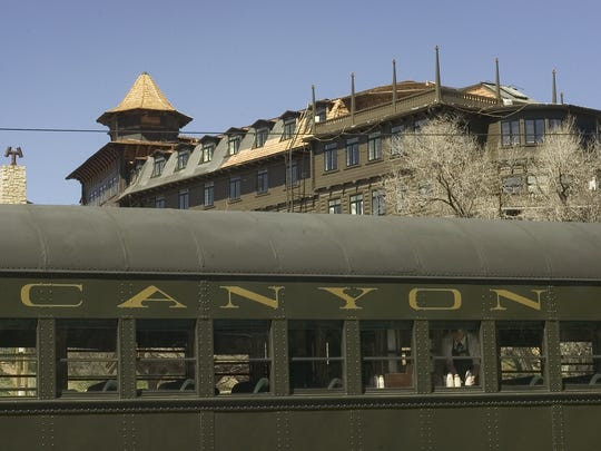 The Grand Canyon Railway takes visitors from Williams