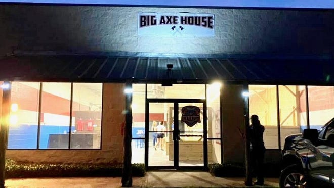 Big Axe House is located at 6560 S. U.S. Highway 377.