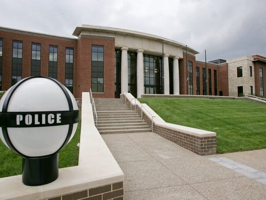 Franklin Police headquarters.