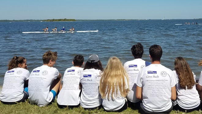 Space Coast Crew is a nonprofit organization that gives youth in Brevard County the opportunity to row with a team since high schools do not have them.