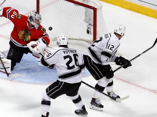 2014 NHL playoffs Los Angeles Gaborik Game 7