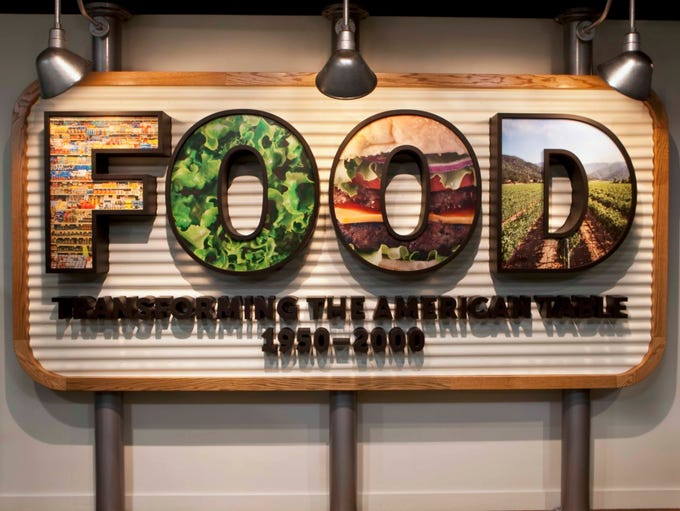 Perhaps the most comprehensive exhibit on food in America,