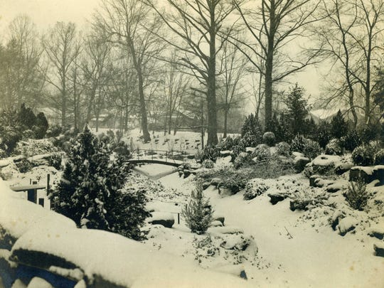 This photo submitted by  Leon C. Bergeron of Alexandria shows City Park after a huge snow in January of 1940. It began snowing on Jan. 22, and on Jan. 23, there was an accumulation of 8.2 inches.