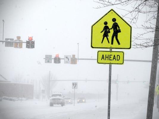 snowfall comes delmarva