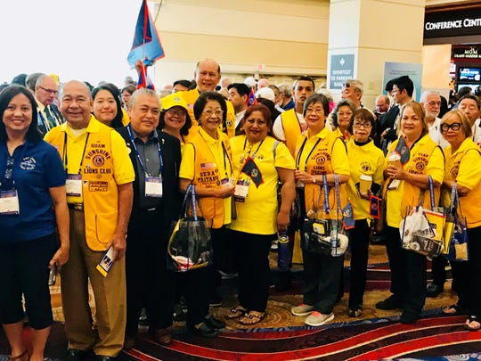 Lions Club International District 204 was represented by members of the Guam Sunshine Lions Club and the Gadao Lions Club at the 101st Lions Clubs International Convention held in Las Vegas, Nevada June 29 to July 4, 2018.