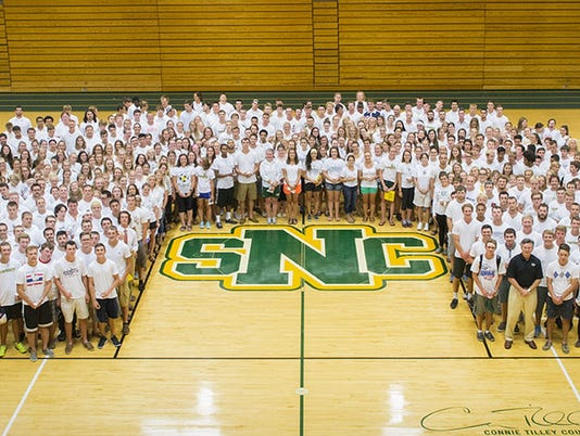 St. Norbert Blessing of the Athletes