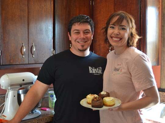 Jake and Liz Ollervides didn't anticipate the popularity that quickly came to The Rustic Cheesecake, which originally started as a hobby business. Within six months, Liz was able to quit her job and focus fulltime on the business.