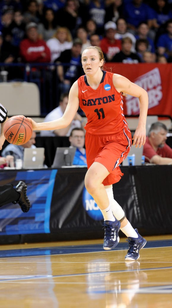 Ally Malott helped lead Dayton to the Elite Eight of