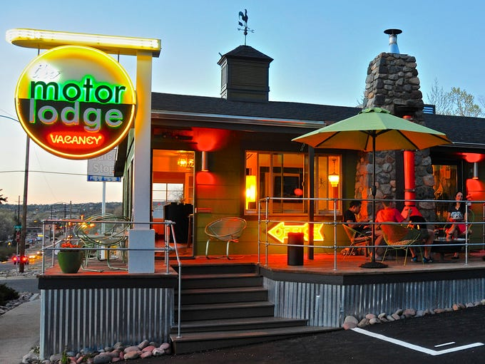 The Motor Lodge in Prescott is a fun remodeled property with a retro vibe.