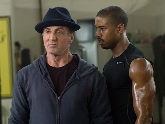 Sylvester Stallone and Michael B. Jordan star in 'Creed.'