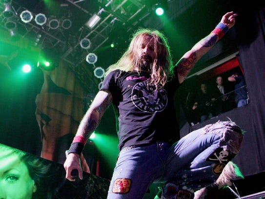 Music artist Rob Zombie will headline a concert with