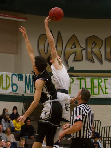 Pine View basketball defeats Snow Canyon Wednesday,