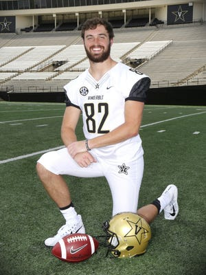 Turner Cockrell, Vanderbilt football player, 21.