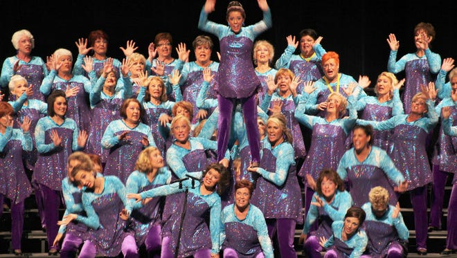 The Scottsdale Chorus can compete at the Sweet Adelines International Convention and Competition in 2015 after winning the Region 21 competition.